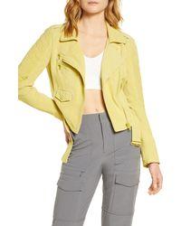 BLANC NOIR Social Suede Jacket - Multicolour