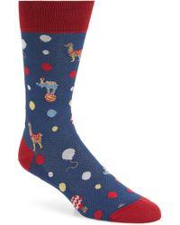 Bugatchi - Jacquard Mercerized Socks - Lyst