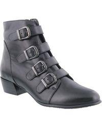 Spring Step Rebeca Boot - Black