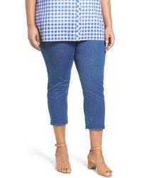 Foxcroft - Nina Slimming Pull-on Capri Jeans - Lyst