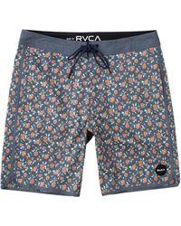 RVCA Arch Floral Board Shorts - Blue