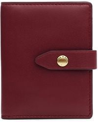 Rag & Bone Passenger Cardcase - Nappa Leather Small Wallet - Brown