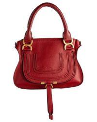 Chloé - Marcie Small Double Carry Bag - Lyst