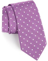 Gitman Brothers Vintage - Polka Dot Silk Tie - Lyst