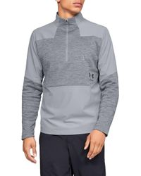 Under Armour - Storm Cyclone Water Repellent Quarter Zip Pullover - Lyst
