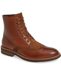 Kenneth Cole Reaction - Klay Wingtip Boot - Lyst