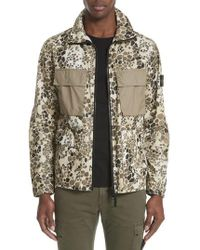 Stone Island Camo Military Field Jacket - Multicolor