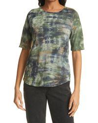 Raquel Allegra - Tie-dye Cotton T-shirt - Lyst