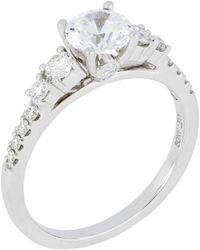 Bony Levy - Multi Stone Round Engagement Ring Setting (nordstrom Exclusive) - Lyst