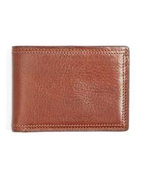 Bosca - Leather Bifold Wallet - - Lyst