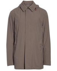 Herno - Bonded Raincoat With Removable Hood - Lyst