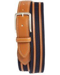 Allen Edmonds - Canvas Strap Belt - Lyst