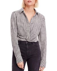 Free People - Lust For Life Twist Top - Lyst