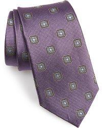 Nordstrom - Medallion Silk Tie - Lyst