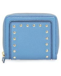 Cole Haan - Cassidy Small Rfid Leather Zip Wallet - - Lyst