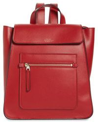 Smythson - Hero Small Leather Backpack - Lyst