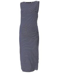 Isabella Oliver - Katerina Ribbed Maternity Tank Dress - Lyst