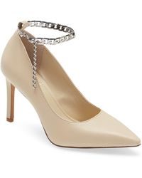 Vince Camuto Peddya Ankle Chain Pump - Multicolour