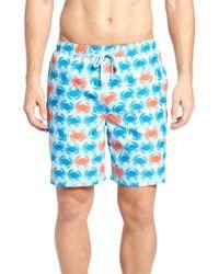 Peter Millar - Crab Shack Swim Shorts - Lyst