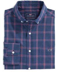 Vineyard Vines Tucker Classic Fit Plaid Button-down Shirt - Blue