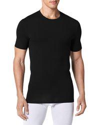 Tommy John Cool Cotton Crewneck Undershirt - Black