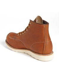 Red Wing - 6 Inch Moc Toe Boot - Lyst