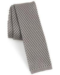 Ferragamo - Ermete Knit Silk Tie - Lyst