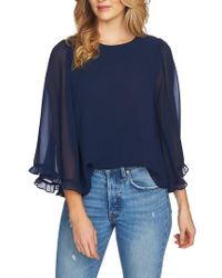 1.STATE   Bell Sleeve Blouse   Lyst