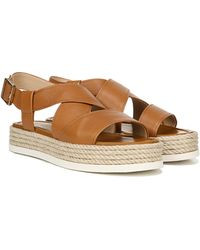 Via Spiga Women's Grayce Platform Sandals - Brown