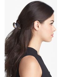 France Luxe Small Couture Jaw Clip - Black