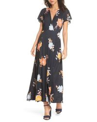 French Connection - Shikoku Jersey Maxi Dress - Lyst