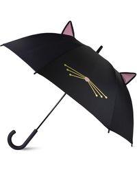 Kate Spade Cat Umbrella - Black