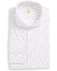 Strong Suit - Espirit Trim Fit Floral Dress Shirt - Lyst