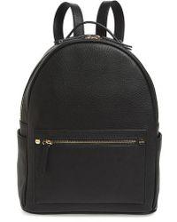 mali + lili Mali + Lili Madison Vegan Leather Backpack - Black