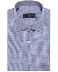 Robert Talbott - Tailored Fit Geometric Dress Shirt - Lyst