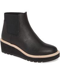 Eileen Fisher Wedge Chelsea Boot - Black