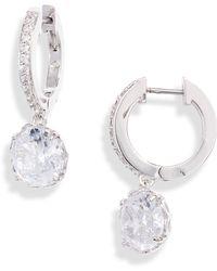 Kate Spade That Sparkle Earrings - Metallic