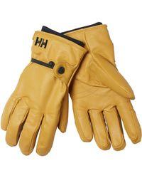 Helly Hansen - Vor Leather Gloves - Lyst