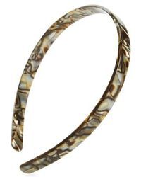 France Luxe - Skinny Headband - Lyst