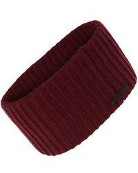 AllSaints - Cardigan Stitch Headband - Lyst