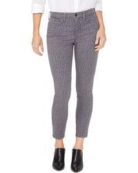 NYDJ Ami Ankle Skinny Jeans - Gray
