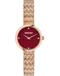 Missoni M1 Joy Bracelet Watch - Metallic