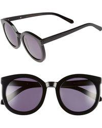 456d957b40 Karen Walker - Super Duper Strength 55mm Sunglasses - Crazy Tortoise - Lyst