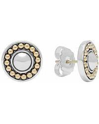 Lagos - 'enso' Two-tone Stud Earrings - Lyst