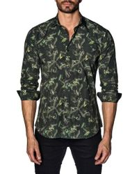Jared Lang - Trim Fit Sport Shirt - Lyst