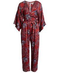213b5115465c Amuse Society - Coastal Beauty Crop Jumpsuit - Lyst