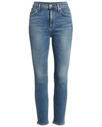 Citizens of Humanity - Rocket Crop Skinny Jeans - Lyst