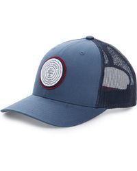 668163efca7 Lyst - Travis Mathew  cylinder  Trucker Hat in Blue for Men