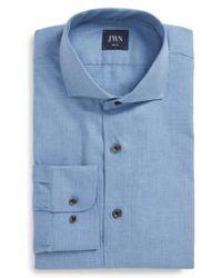 John W. Nordstrom - John W. Nordstrom Trim Fit Solid Dress Shirt - Lyst