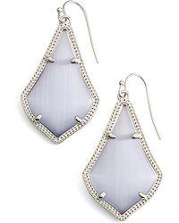 Kendra Scott Alex Drop Earrings - Blue